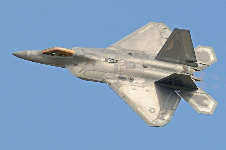 Check Out This Infrared Photo Of A Stealth Fighter