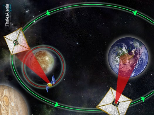 Space-Sailing Data Clippers Could Ferry Huge Amounts of Scientific Data Around the Solar System