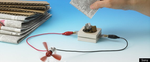 Eco-Friendly Battery Runs on Old Newspapers