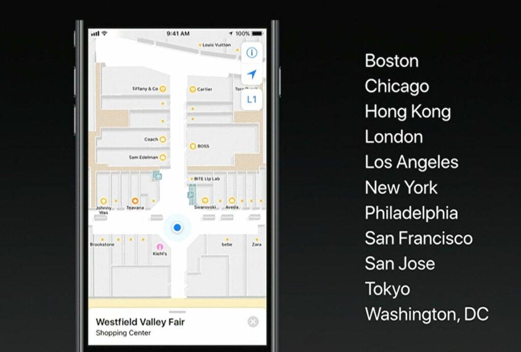 Apple Maps iOS 11