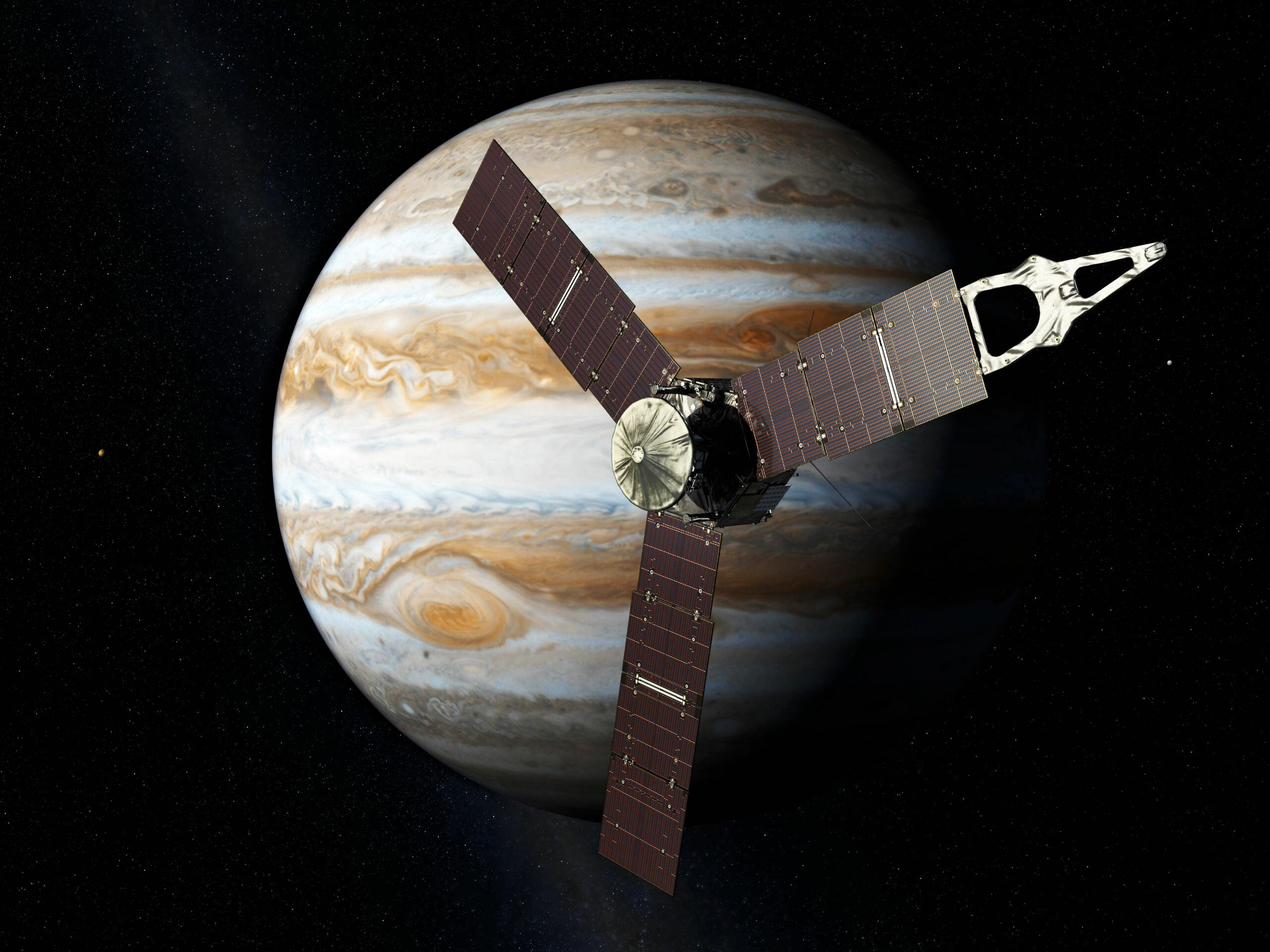 Juno Mission Will Peer Beneath Jupiter's Clouds In July