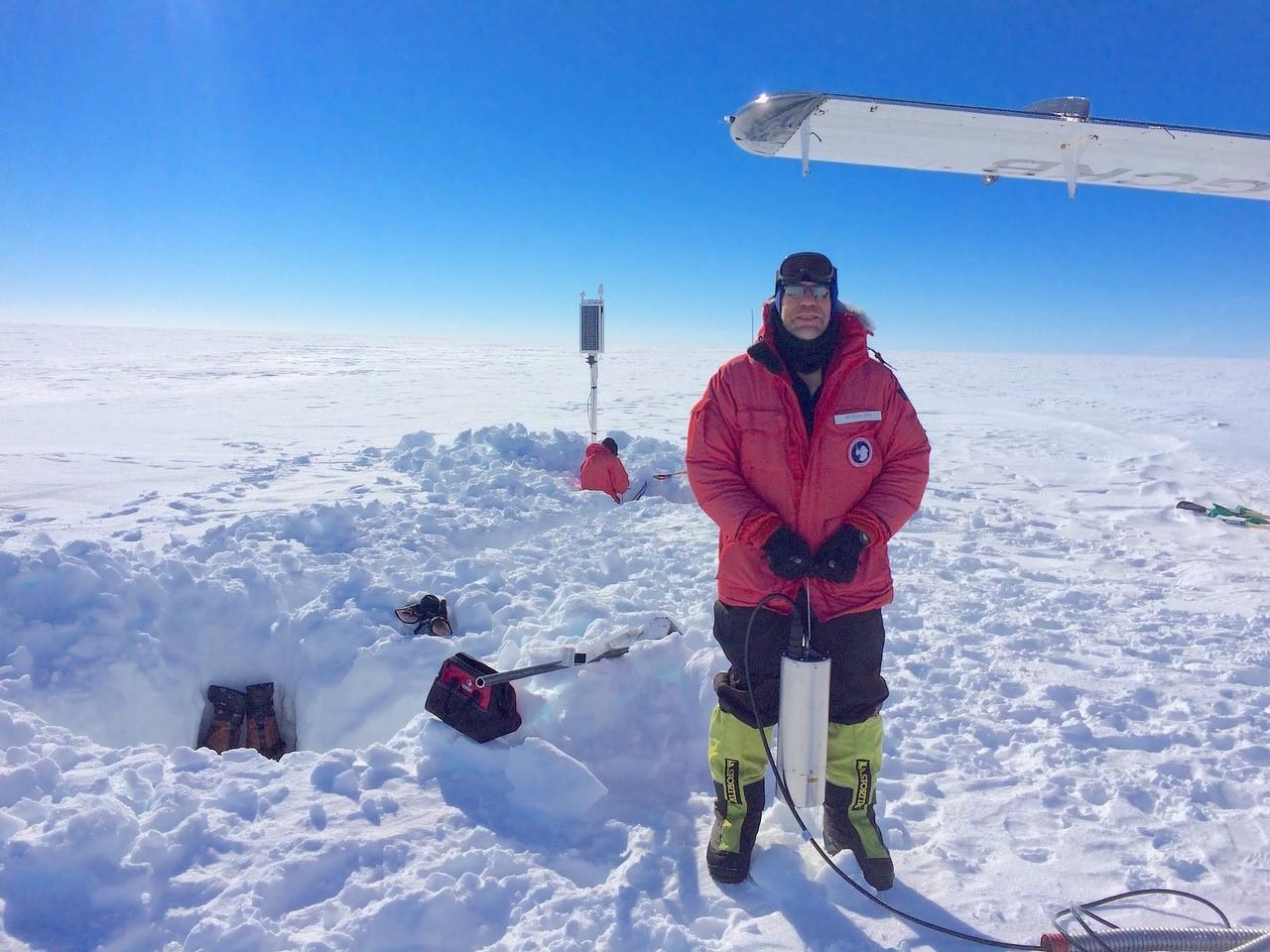 Scientists caught an Antarctic ice shelf singing a strange tune