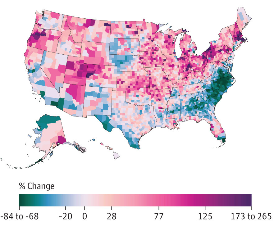 alcohol disorders change map
