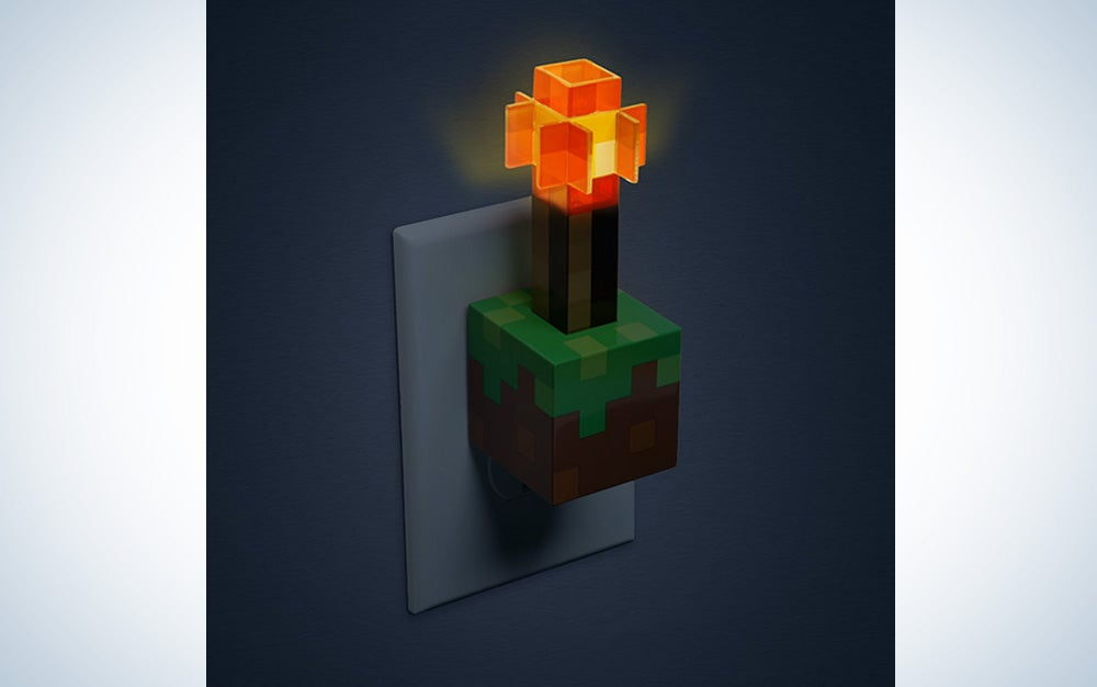 Minecraft Torch USB Wall Charger