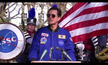 Stephen Colbert Reveals The Deep Dark Secret Of Astronaut Ice Cream