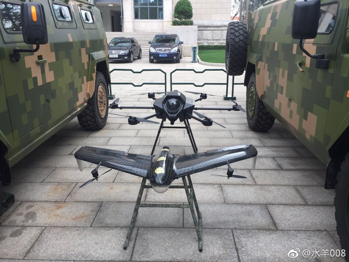 Come see China's new hexacopters and self-detonating drones