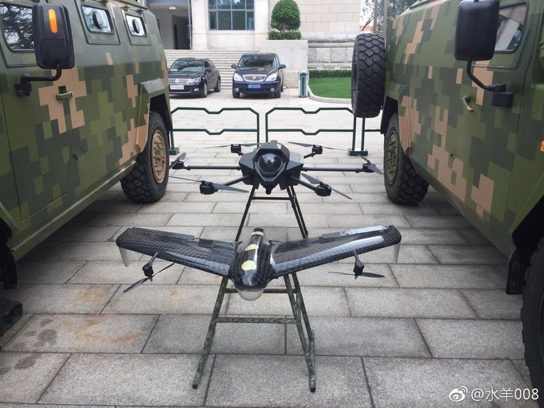China Hexacopters