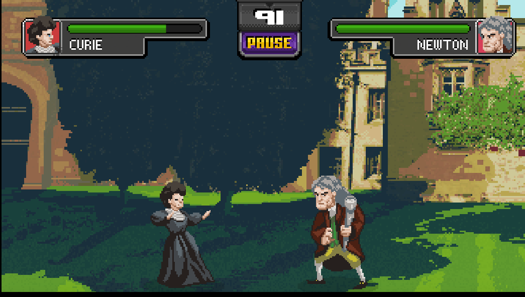 Historical Science Celebs Battle It Out In Science Kombat Game