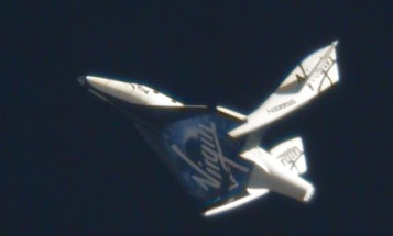 Video: Virgin's SpaceShipTwo Makes Its First 'Feathering' Flight