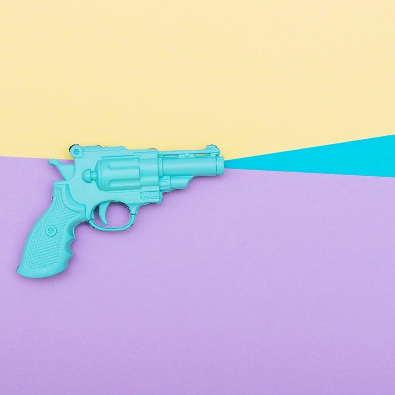 a plastic gun