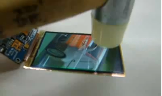 A Hammer Is No Match For a Flexible OLED Display