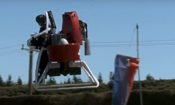 Watch A Guy Fly Around In A Martin Jetpack
