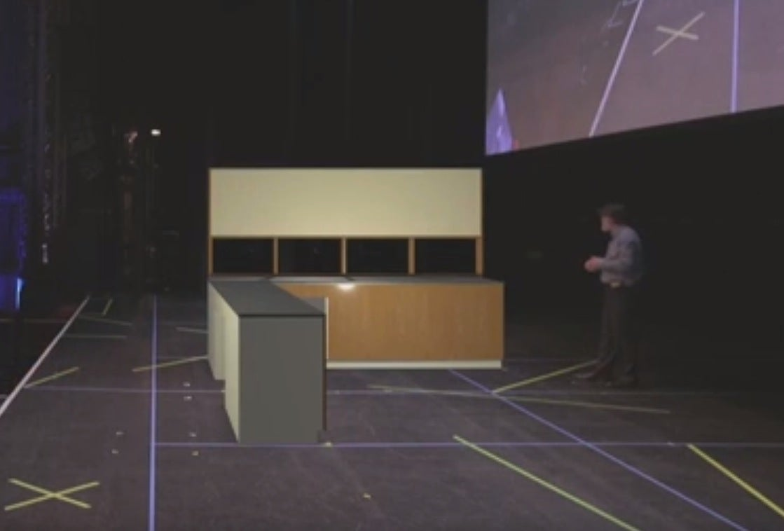 Watch Augmented Reality Put Furniture Into Empty Space