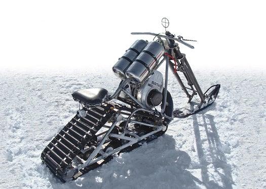 Theme Building: Three DIY Snow Vehicles Show Winter Who's Boss