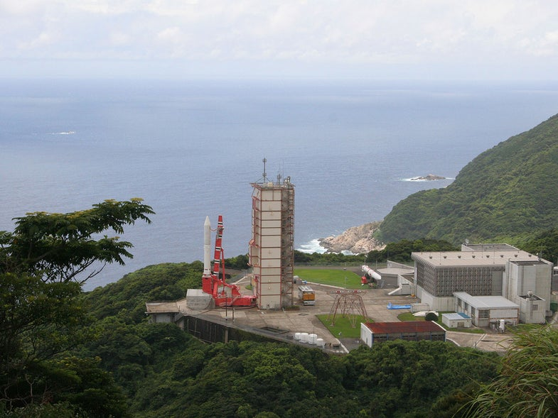 In Japan, Eight People With Two Laptops Launch A Telescope Into Orbit