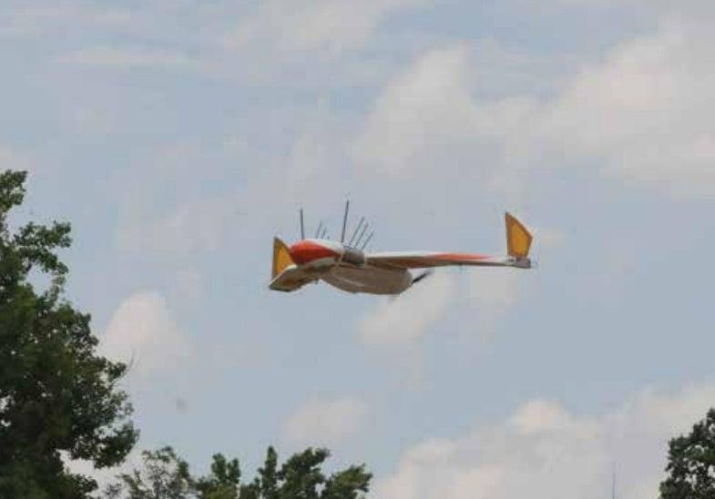 Flying WANDA Flimmer