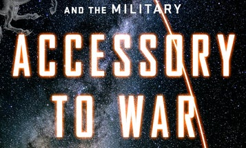 The double-hinged door between astrophysics and the military