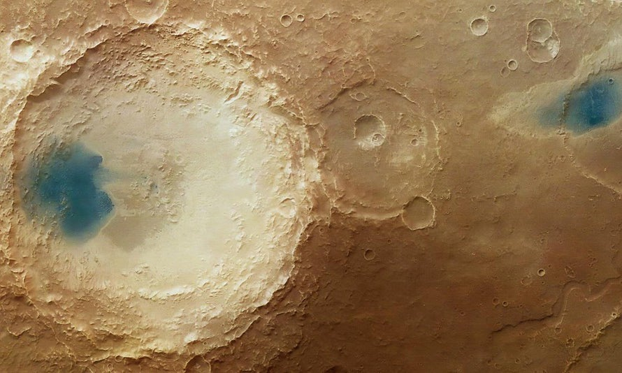 Blue Spots On Mars, Tiny Frogs, And Other Amazing Images Of The Week