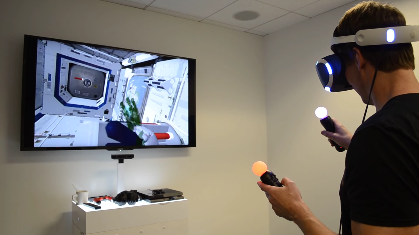 NASA Will Use Playstation VR To Control Robots In Space