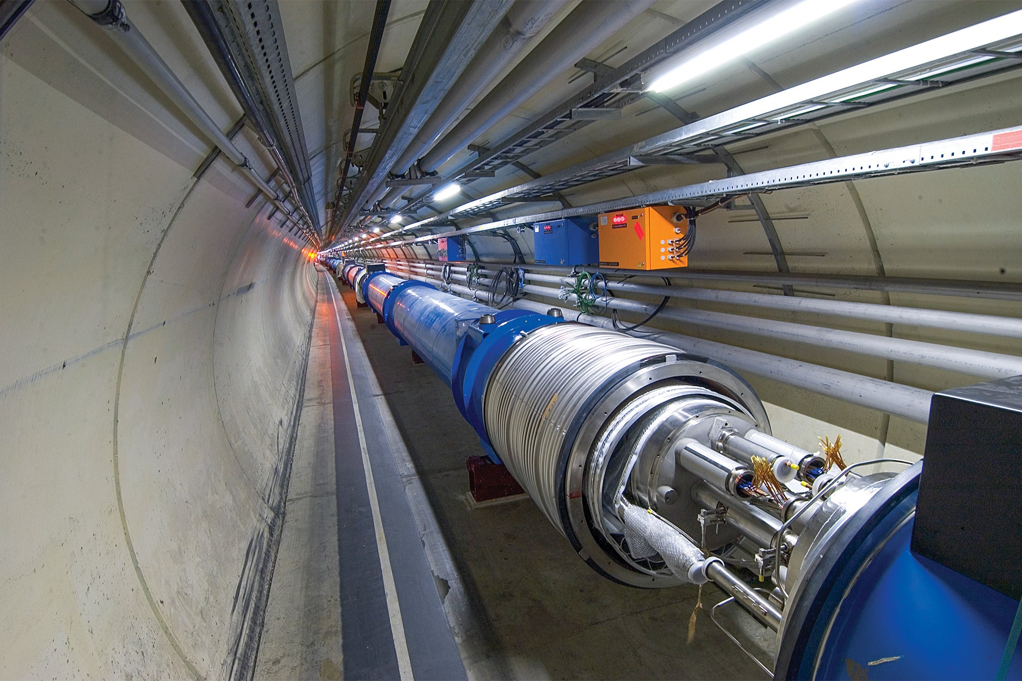 FYI: What Would Happen If You Got Zapped By The Large Hadron Collider?