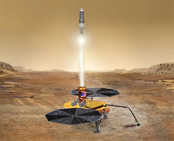 Next Big Mars Goal: Bringing Samples Home From The Red Planet