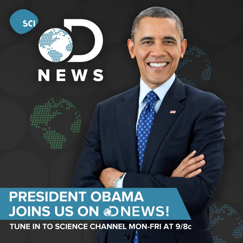 I (Sort of) Hosted A Show with President Obama!