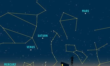 Now You Can See Five Planets At Once With The Naked Eye