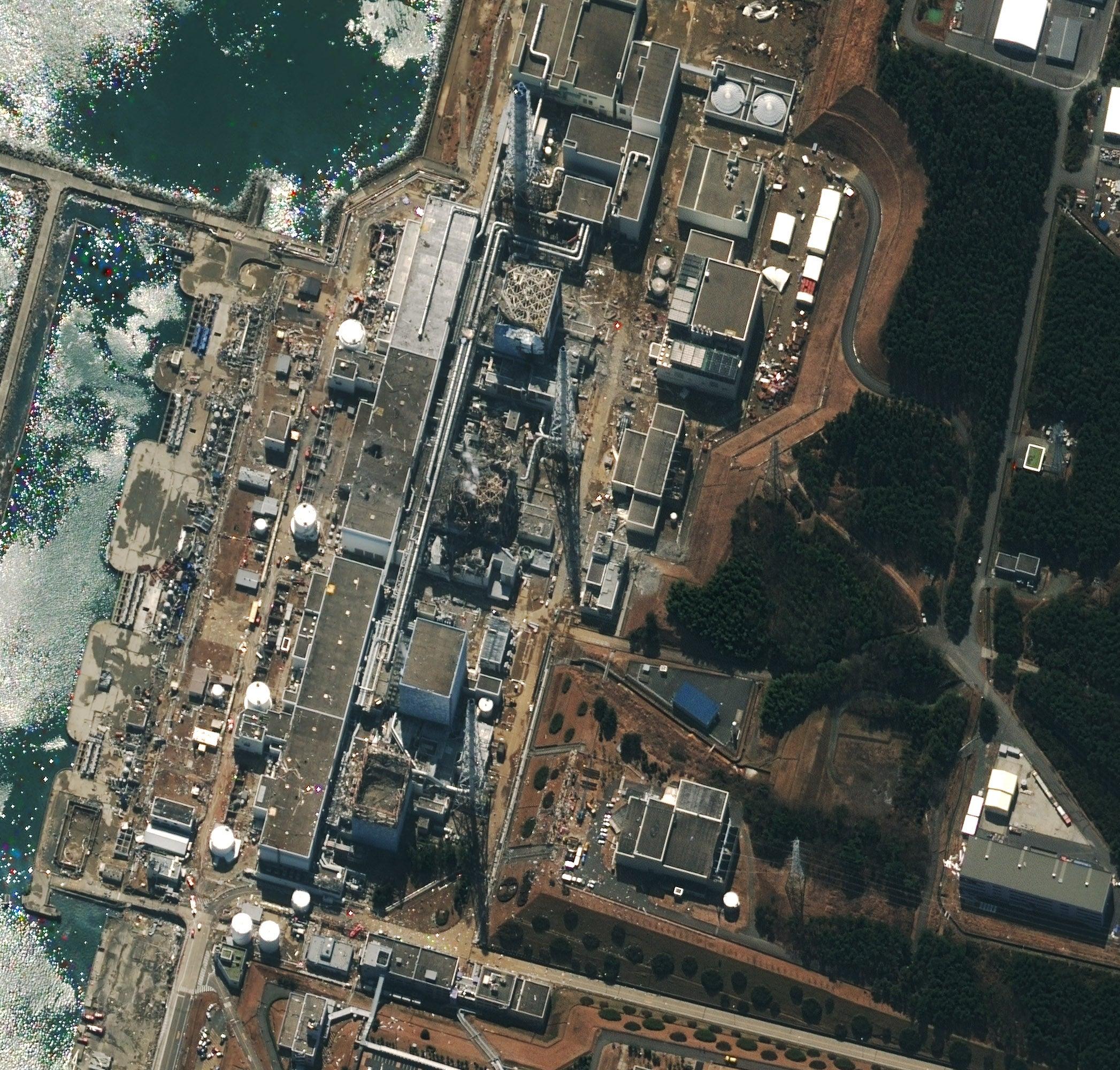 As Cooling Efforts Continue, Japanese Officials Consider Burying Fukushima Plant