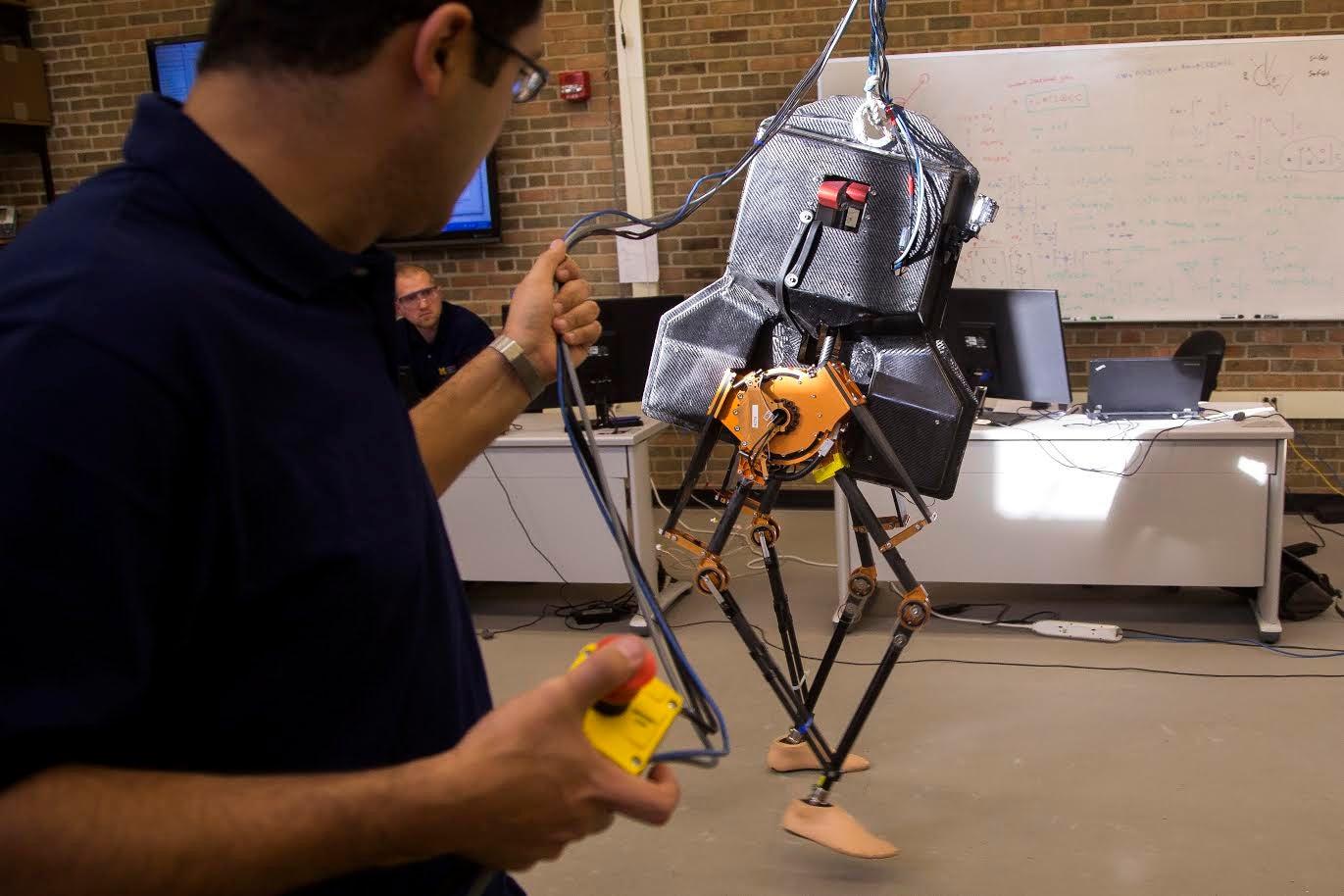 Two-Legged Robot With Human Feet Can Now Walk Independently