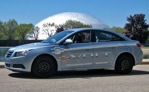 Chevy Volt Prototype Test Drive: Detroit's Great Electric Hope