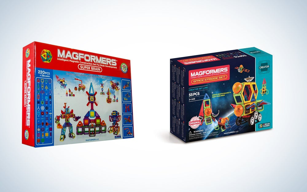 Magformers magnetic kids toys