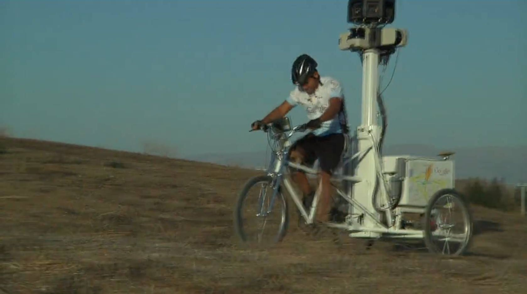 Here Comes the Google Street View Trike