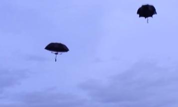 Umbrella Drones Float Through The Air Like Jellyfish