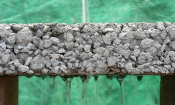 Future Parking Lots Will Filter Disgusting Storm Water With Sponge-Like Concrete