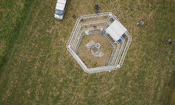 This Towering 3D Printer Builds Clay Homes