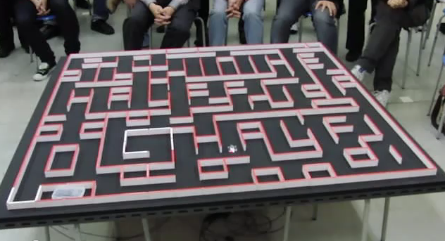 Video: Champion Mousebot Solves Huge Maze in Five Seconds
