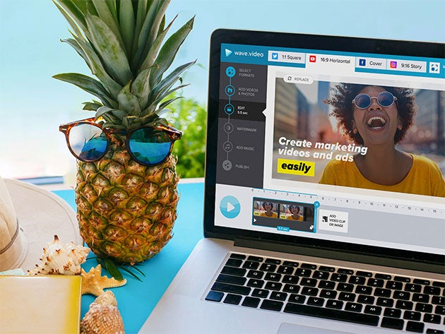 Wave.Video helps you create videos in minutes, with little effort or know-how