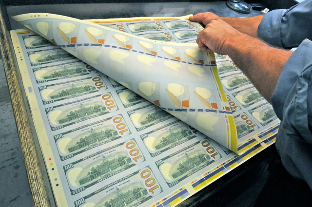 At the US Money Factory, High-Tech Benjamins Roll Off the Presses