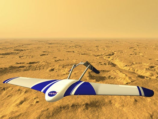 NASA Moves Ahead With Robotic Plane to Take Mars Exploration to the Skies