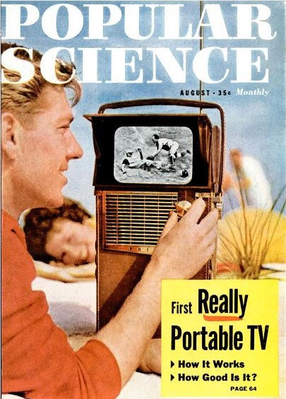 Archive Gallery: PopSci's Most Gigantic Portable Gadgets