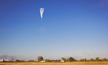 Google's Internet Balloon Comes Down In Chile