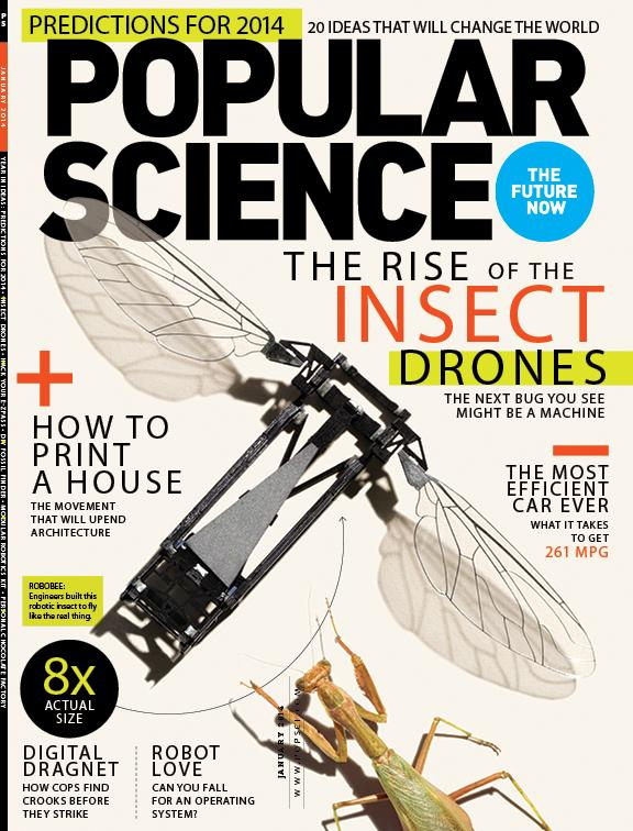 January 2014: The Rise Of The Insect Drones