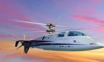 Sikorsky and Eurocopter Compete To Build Super-High-Speed Choppers
