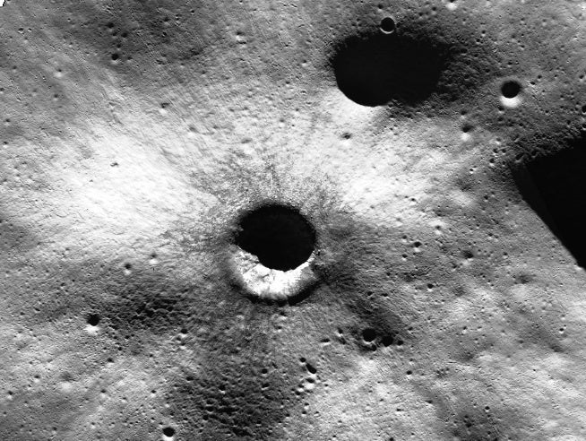 Big Pic: The Biggest Map Ever Of The Moon's North Pole