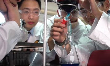 High school students cheaply reproduced a drug that sells for $750 a dose