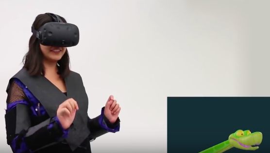 Disney's haptic VR jacket lets you feel snowball impacts and snakes slithering