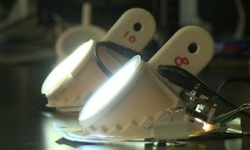 Nanofiber Lamps Are More Efficient Than Incandescent Bulbs, Eco-Friendlier Than Fluorescent