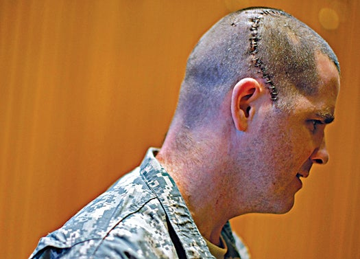 Troops Strike Up a Tune to Repair the Damage of Brain Injuries