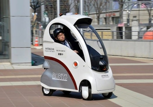 This Tiny Car Drives Itself