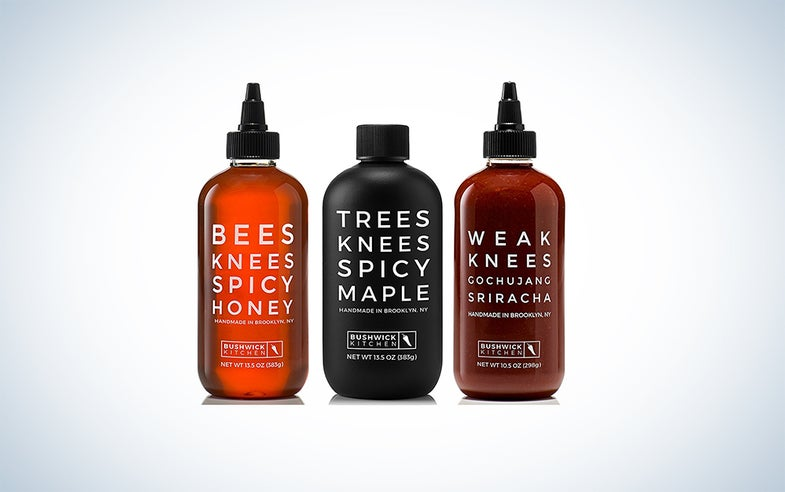 Threes Knees Spicy Trio